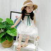 女童裝夏季薄款無袖洋裝女寶寶女嬰兒2356-7歲夏裝公主背心裙子【鉅惠兩天 全館85折】