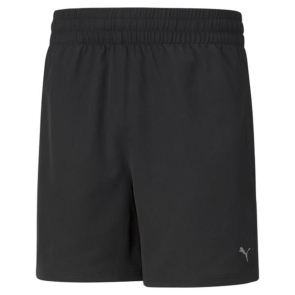 PUMA 男款短褲 黑色 ESS 5吋短風褲 52031701