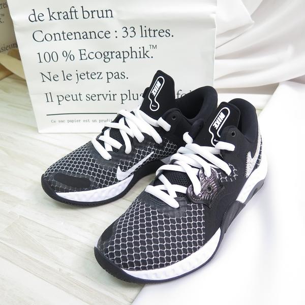 NIKE RENEW ELEVATE II 男款 籃球鞋 大尺碼 CW3406004 黑【iSport愛運動】