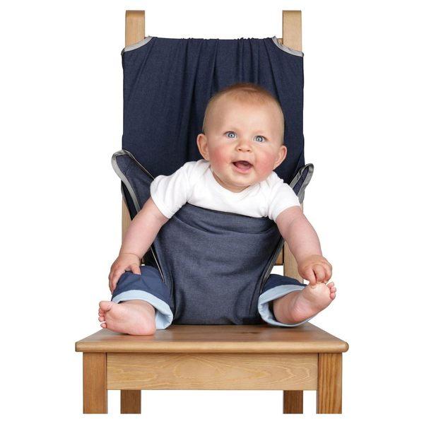 英國totseat兒童餐椅安全帶-牛仔