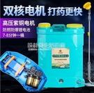 電動噴霧器鋰電農用背負式雙泵高壓大功率打藥機背式農藥噴灑噴藥 設計師生活百貨