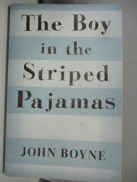 【書寶二手書T4/原文書_ALK】The Boy in the Striped Pajamas_Boyne