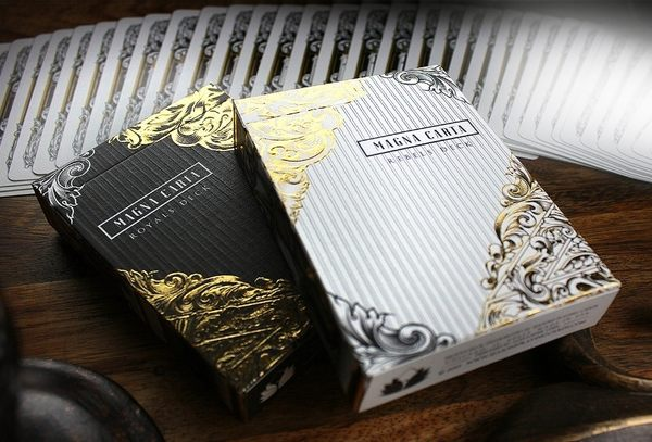【USPCC 撲克】MAGNA CARTA REBEL PLAYING CARDS WHITE 自由無罪 叛軍白
