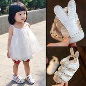 一歲寶寶涼鞋女幼兒女童潮防滑軟底公主0-1-2歲鞋子3嬰兒學步鞋夏   初見居家