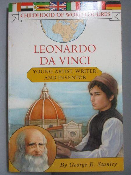 【書寶二手書T6/原文書_NRC】Leonardo Da Vinci: Young Artist, Writer, An