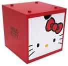 【震撼精品百貨】Hello Kitty_凱蒂貓~三麗鷗HELLO KITTY彩積木盒-紅*38674