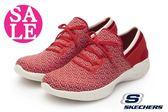 SKECHERS 女運動鞋 蝴蝶結假綁帶款 YOU新系列 套式休閒鞋 零碼出清 O8284#紅色◆OSOME奧森童鞋