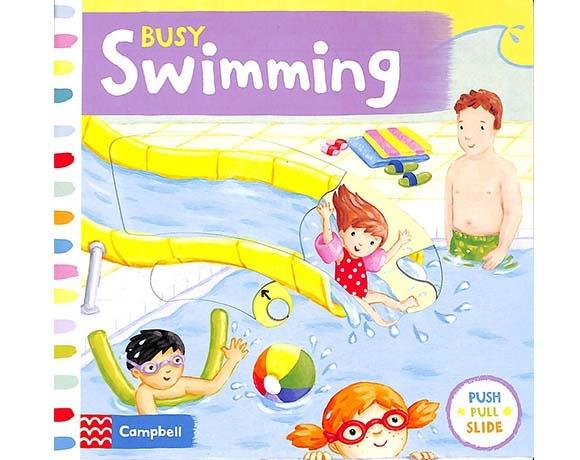 Busy Swimming 歡樂的泳池操作書