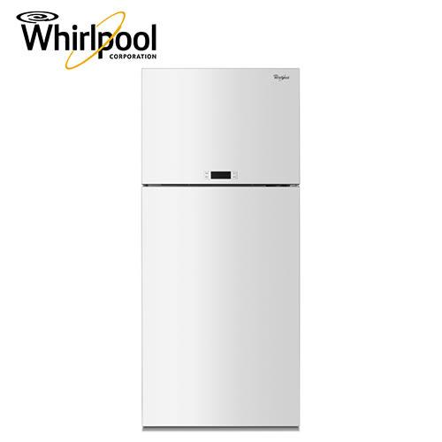 [Whirlpool 惠而浦]521公升 上下門 雙門冰箱 創.易系列 WDT2525LW