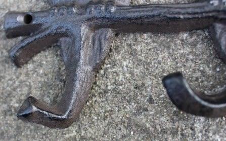 協貿國際復古鑄鐵鐵藝掛鉤1入