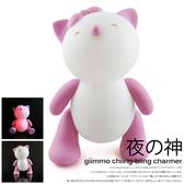 【虎兒寶】giimmo 魔幻燈彩安撫玩伴-小貓蘿絲Rose(充電型)【屈臣氏】