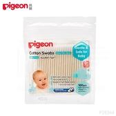 Pigeon貝親  外出用紙軸棉花棒(細)100支入 26544  好娃娃