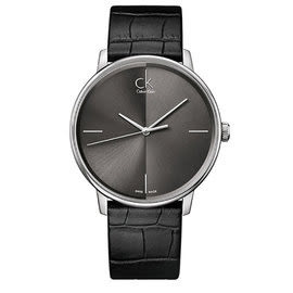 CK - Accent男士手錶 瑞士ck手錶 男錶女錶對錶 K2Y2X1C3