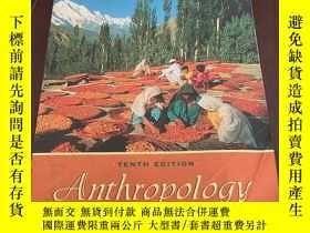 二手書博民逛書店Anthropology罕見the exploration of