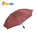 UV100 防曬 抗UV-晴雨大傘面自動反向傘-反光防護