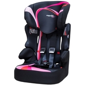 NANIA 納尼亞 (3-12歲)成長型安全汽座/安全座椅-彩繪系列-彩虹粉FB00329[衛立兒生活館]