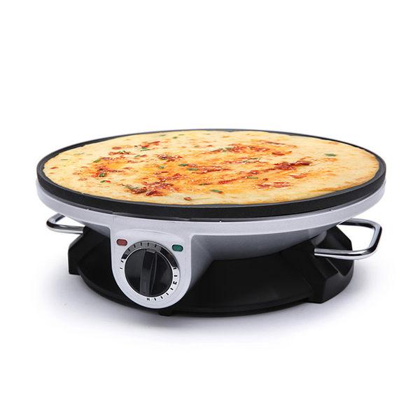 米凡歐斯德國薄餅機 薄餅鐺烙餅機家用 煎餅機烤餅鍋春捲機煎餅機220V