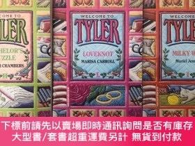 二手書博民逛書店TYLER:BACHELOR S罕見PUZZLE+LOVEKNOT+MILKY WAY(3本合售)Y5919