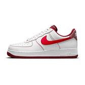 Nike Air Force 1 First Use 男 白紅 AF1 紅勾 休閒鞋 DA8478-101