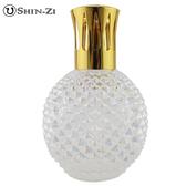 (圓鑽-白五彩) 大玻璃瓶 香薰瓶 薰香瓶 精油瓶