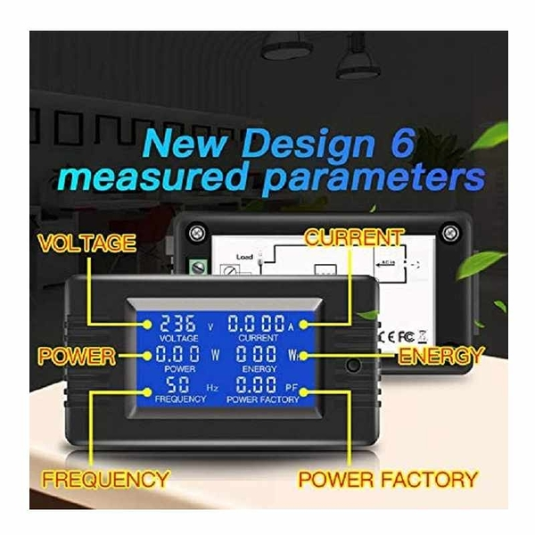 數字型電表 80-260V 100A 分體式變壓器 Split Core Current Transformer [2美國直購]