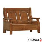 【采桔家居】羅撒 雅緻風實木二人座沙發椅