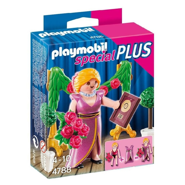 特價 playmobil special plus 摩比人 名演員得獎_ PM04788