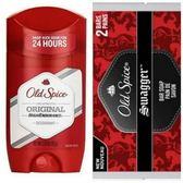 【美國原裝進口】Old Spice 原味體香膏(63g)*3+香水皂-搖擺*6塊