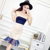 夏季新款女裝韓版吊帶顯瘦連衣裙LJ3680『miss洛羽』