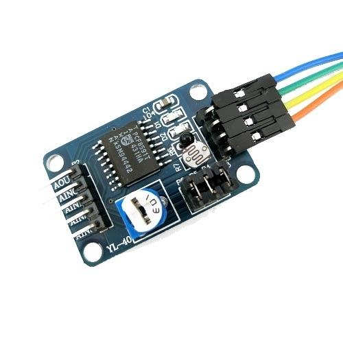 PCF8591 AD/DA 數位類比轉換模組 IIC介面