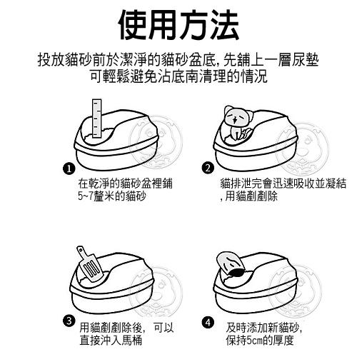 【培菓寵物48H出貨】南小喵》食用級凝結力強原味|水蜜桃|綠茶豆腐貓砂6L*8包