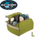 【Sea to Summit 澳洲 旅行用盥洗包《萊姆綠/淺灰》L】STSATLTC/打包袋/打理包/收納包