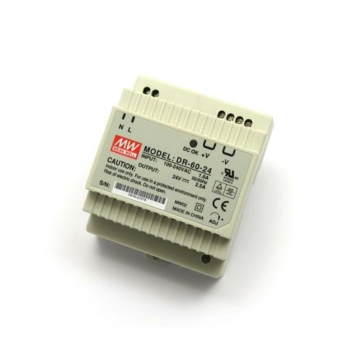[2美國直購] denkovi 導軌電源 24V/2.5A Industrial DIN Rail Power Supply