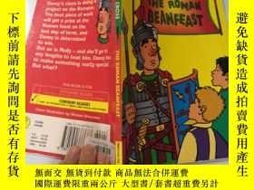 二手書博民逛書店the罕見poman beanfeast 波曼海灘Y200392