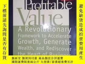 二手書博民逛書店Delivering罕見Profitable Value(詳見圖)Y6583 Lanning, Mike Ba