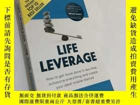 二手書博民逛書店Life罕見Leverage: How to Get More