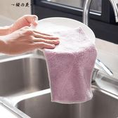 居家家吸水洗碗布廚房清潔布毛巾10條加厚不沾油不掉毛抹布擦手巾【櫻花本鋪】