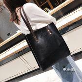 公事包電腦包手提包大包秋冬女包歐美復古簡約公文包時尚手提包單肩包 特惠免運