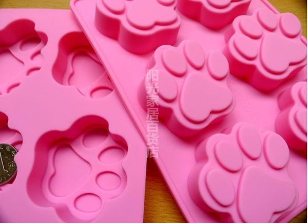 [協貿國際]  可愛手掌模貓爪熊掌蛋糕模具