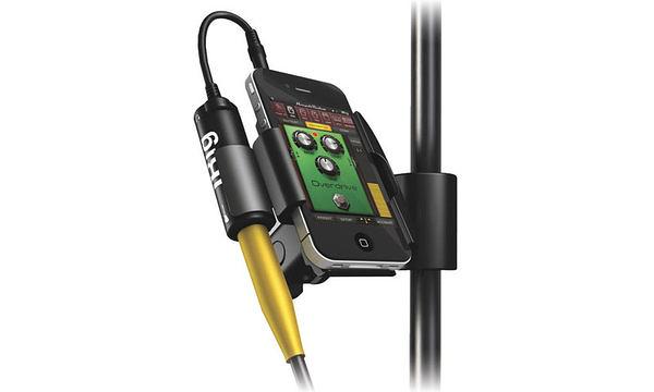 音響世界。IK iKlip Mini iPad或iPod Touch專用麥克風架固定夾