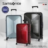 【雙12限時破盤↘骨折價】《熊熊先生》Samsonite 新秀麗 PC材質 雙排靜音輪 AZ5 行李箱 28吋
