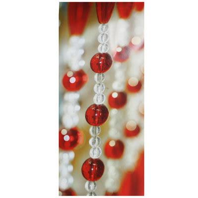 微笑城堡[開運水晶簾90-11紅](每條每米145元)窗簾 門簾(華麗訂製)(最后促銷)(下殺最底價)10條起售