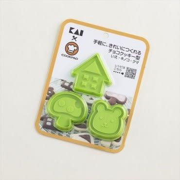 貝印森林動物餅乾壓模組 (混款) DL-8005/8006