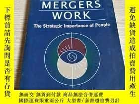 二手書博民逛書店the罕見strategic importance of people並購對人的戰略重要性Y212829