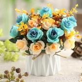 仿真植物-ins北歐風仿真綠植植物小盆栽創意家居室內客廳裝飾桌面假花擺件 糖糖日系
