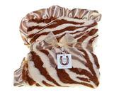 美國嬰兒毛毯動物紋 - 棕色斑馬: MD-AP-16