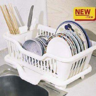 滴水碗盆收納架(3551型)--白色