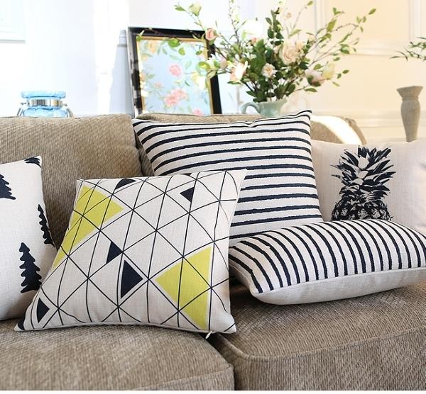 歲末清倉~時尚簡約北歐抱枕 靠墊 沙發裝飾靠枕3 (抱枕套不含枕心)