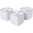 【免運費】ASUS 華碩 ZenWIFI AX Mini XD4 白 (三件組) AX1800 三頻 Wi-Fi 6 Mesh 系統 網狀網絡 路由器