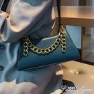 包包女包新款洋氣錬條手提斜挎包韓版時尚休閒包包氣質簡約女 范思蓮恩
